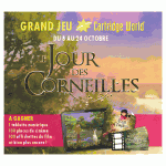 "Cartridge World Chambery parraine ""Le Jour des Corneilles"""
