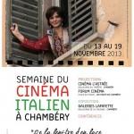chambery affiche semaine du cinema italien