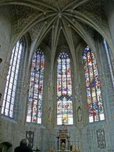 La Sainte-Chapelle.